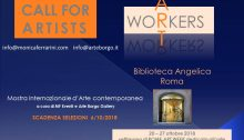 locandina dell'evento Art Workers
