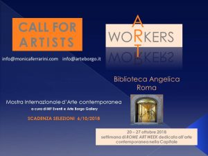 locandina dell'evento Art Workers