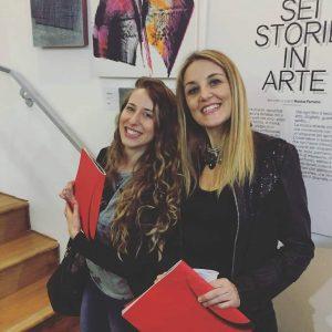 Foto a mezzo busto di Valentina Gattaino e Monica Ferrarini