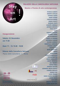locandina dell'evento Stay on Art